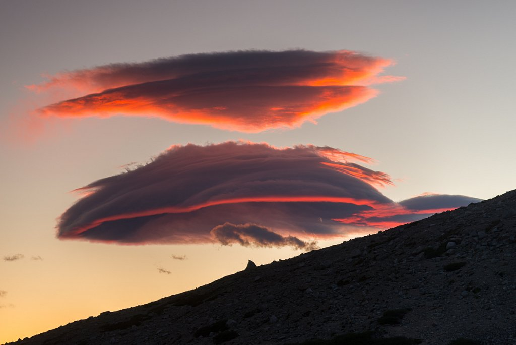 Lenticulaires - Parc National Torres del Paine - Chili